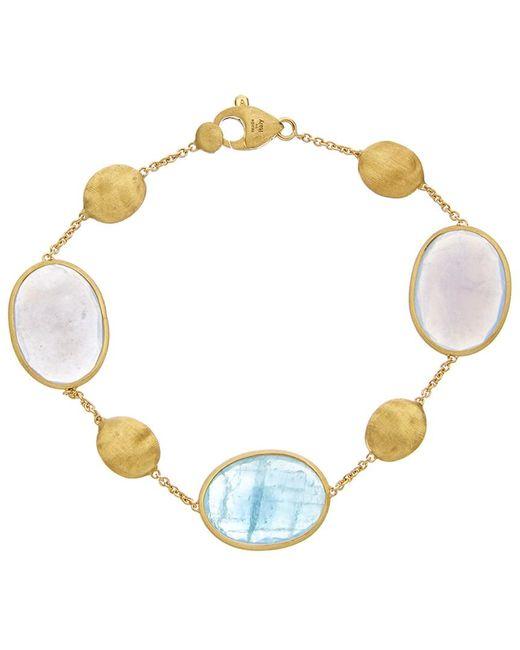 Marco Bicego - Metallic Siviglia 18k Yellow Gold Gemstone Bracelet - Lyst