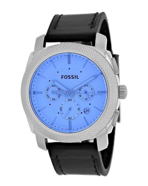 Fossil - Blue Men's Machine Watch for Men - Lyst