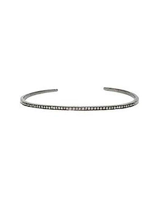 Adornia - Metallic Fine Jewelry Silver Cuff - Lyst