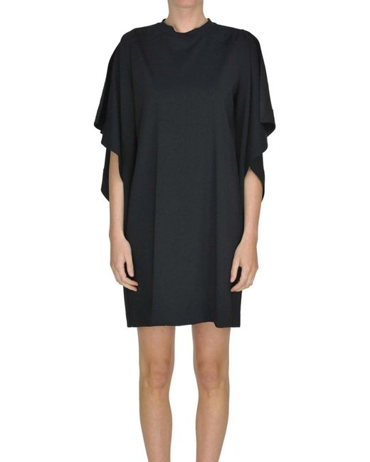 Marni - Black Viscose-blend Tunic Dress - Lyst