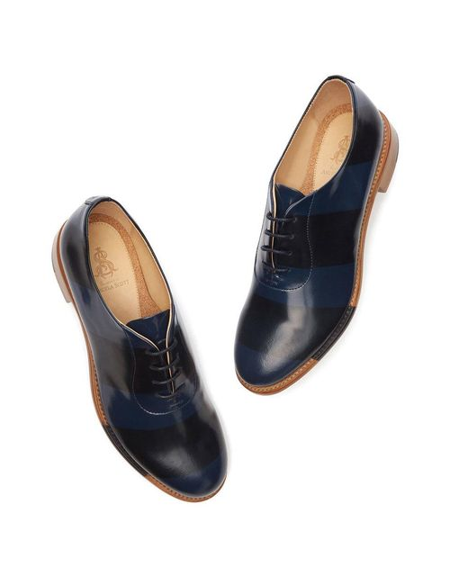608405923a7 The Office Of Angela Scott - Blue Mr. Smith Loafers - Lyst ...