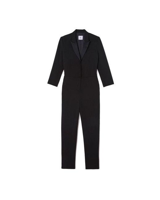 G. Label by goop - Black Elgin Tuxedo Jumpsuit - Lyst