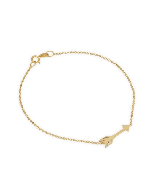 Jennifer Meyer | Metallic Mini Arrow Bracelet | Lyst