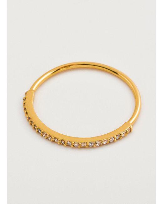 Gorjana & Griffin - Metallic Shimmer Bar Ring - Lyst