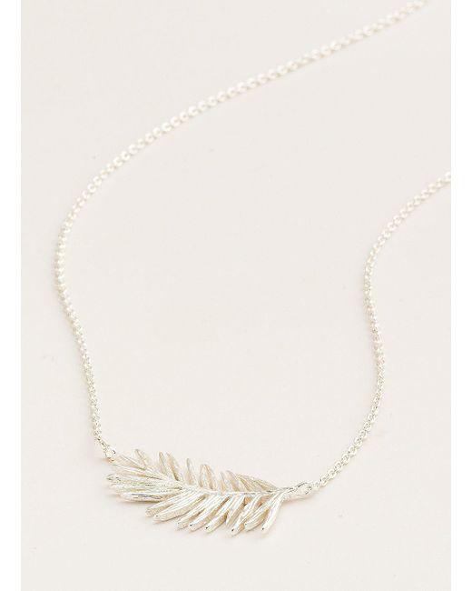 Gorjana & Griffin - Metallic Palm Adjustable Necklace - Lyst