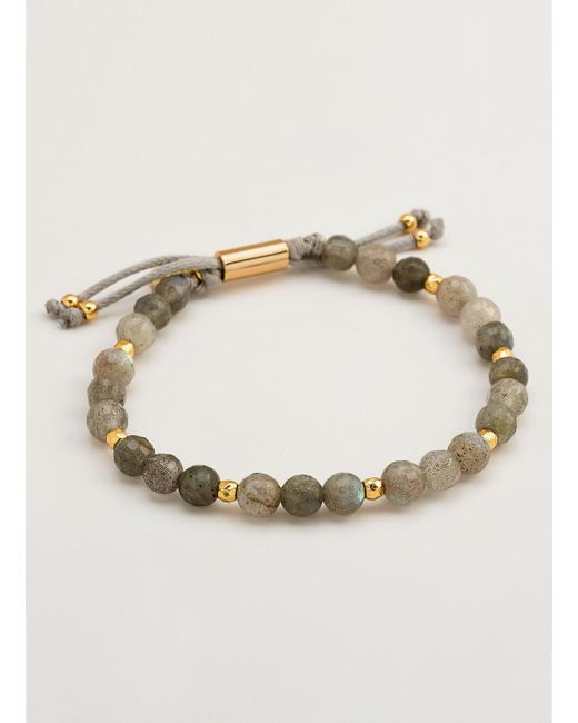 Gorjana & Griffin | Metallic Power Gemstone Labradorite Beaded Bracelet For Balance | Lyst