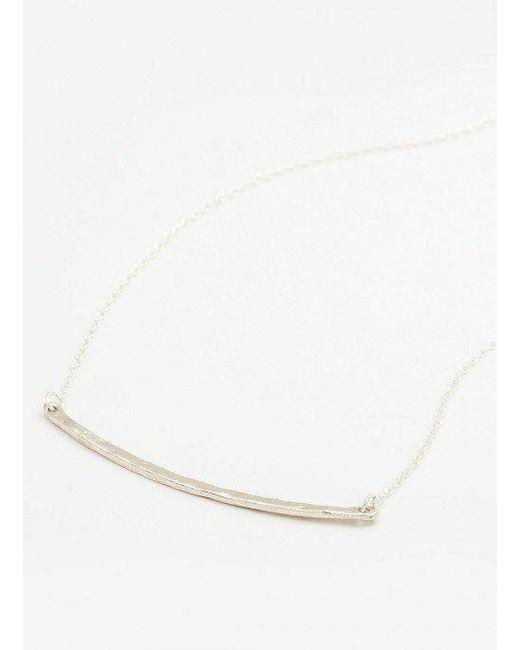 Gorjana & Griffin - Metallic Taner Bar Small Necklace - Lyst