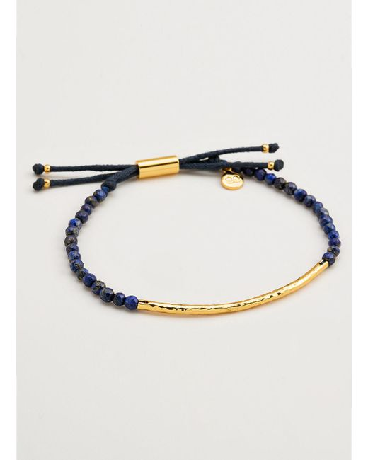 Gorjana & Griffin | Metallic Power Gemstone Lapis Bracelet For Wisdom | Lyst