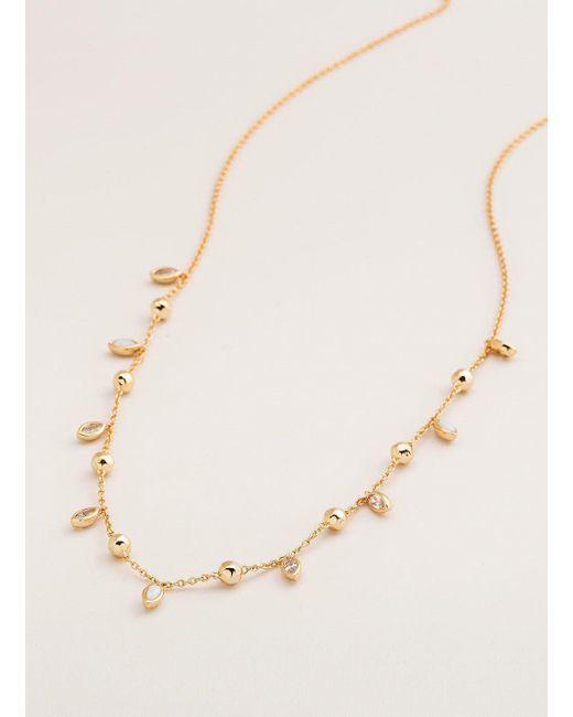 Gorjana & Griffin - Metallic Rumi Confetti Adjustable Necklace - Lyst