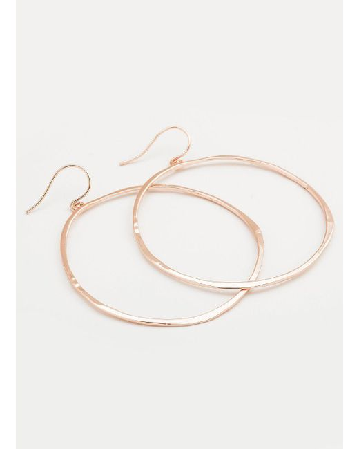 Gorjana & Griffin - Pink G Ring Earrings - Lyst