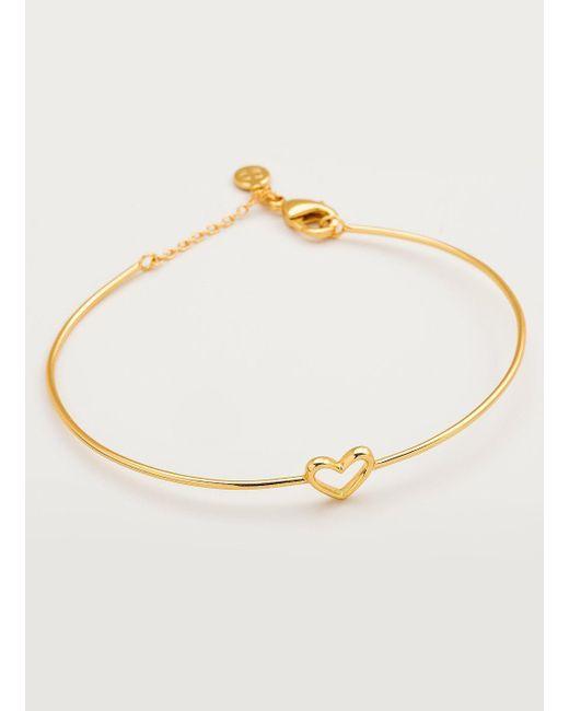 Gorjana & Griffin - Metallic Cutout Heart Bracelet - Lyst