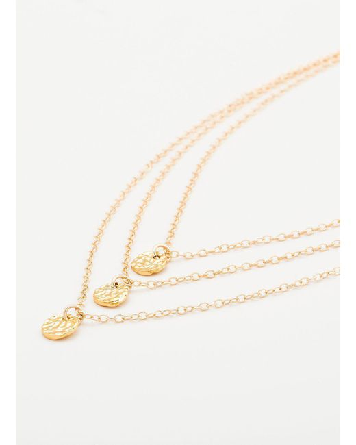 Gorjana & Griffin - Metallic 3 Disc Necklace - Lyst