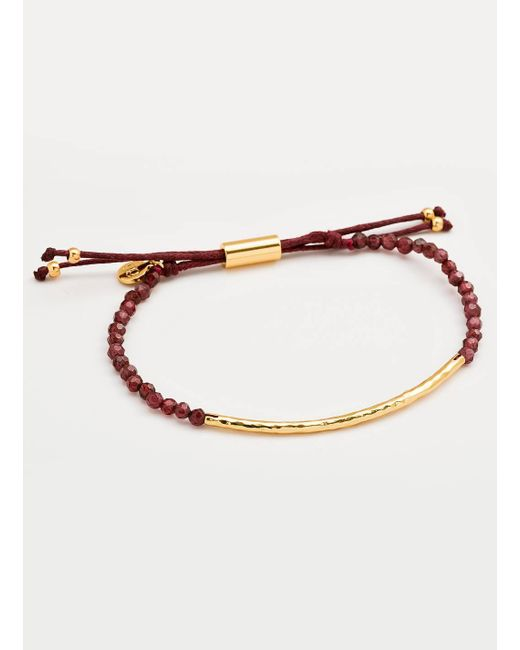 Gorjana & Griffin | Metallic Power Gemstone Garnet Bracelet For Energy | Lyst