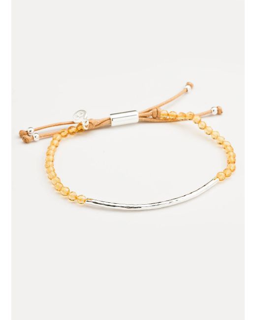 Gorjana & Griffin | Metallic Power Gemstone Citrine Bracelet For Abundance | Lyst