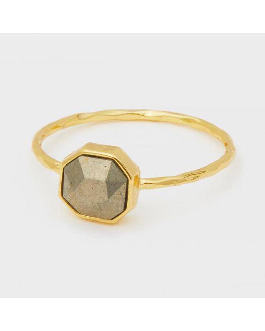 Gorjana - Metallic Power Gemstone Charm Ring For Strength - Lyst