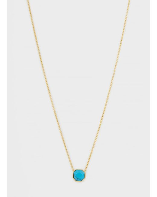 Gorjana & Griffin - Metallic Power Gemstone Charm Necklace For Healing - Lyst