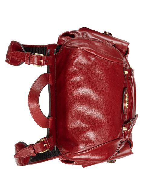 0790b837a58 ... Gucci - Red Re(belle) Backpack for Men - Lyst ...