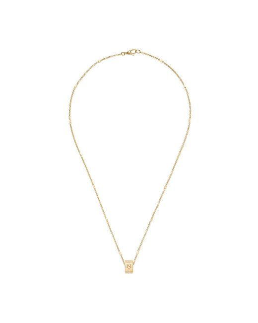 Gucci - Metallic Icon Necklace In Yellow Gold - Lyst