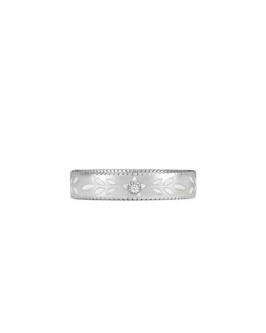 Gucci | Icon Ring In White Gold And Diamond | Lyst