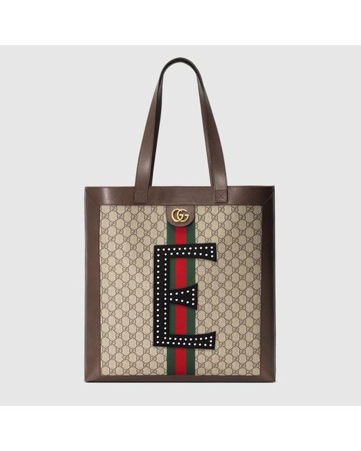 32d400c9402 Gucci - Multicolor Diy Ophidia Gg Supreme Large Tote for Men - Lyst