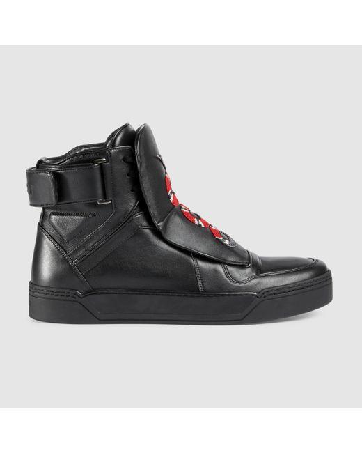 fac2cc3b022d1 Gucci Sneakers Snake High Top
