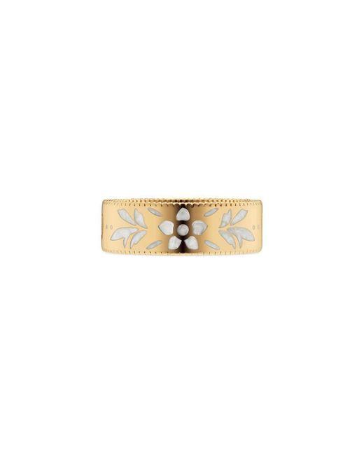 Gucci | Metallic Icon Ring In Yellow Gold | Lyst