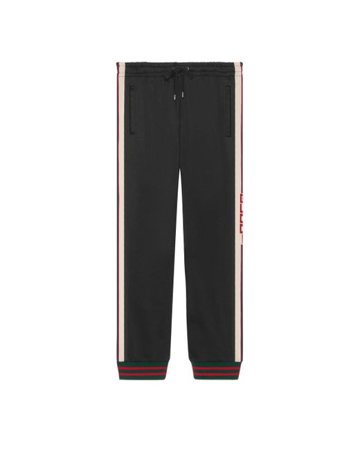 71edac65715af Lyst - Pantalón de Punto Técnico Gucci de hombre de color Negro
