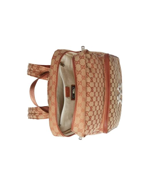 ... Gucci - Medium Backpack With Ny Yankeestm Patch Pink for Men - Lyst ... f6275ad732