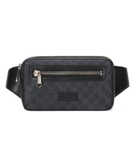 3f7411f13 Gucci - Black Soft GG Supreme Belt Bag for Men - Lyst ...