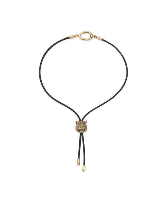 Gucci - Brown Le Marché Des Merveilles Charm Bracelet for Men - Lyst