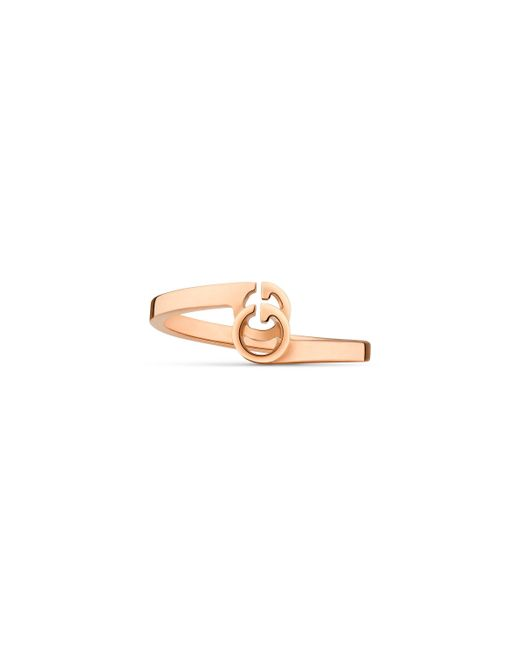 Gucci - Metallic GG Ring In Rose Gold - Lyst