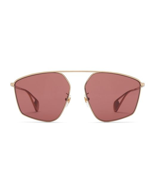 236dfca83d8 Gucci - Multicolor Specialized Fit Square-frame Sunglasses - Lyst ...