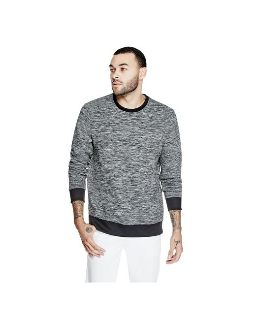 Guess | Multicolor Sice Quilted Sweatshirt for Men | Lyst