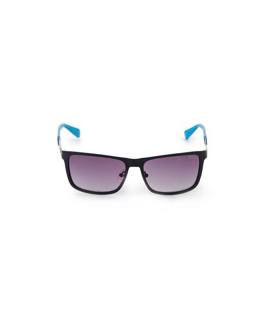 Guess - Blue James Square Mesh Sunglasses for Men - Lyst