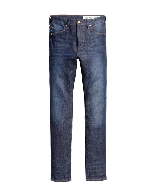 H&M | Blue Slim Regular Tapered Jeans for Men | Lyst