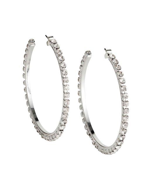 H&M | Metallic Sparkly Hoop Earrings | Lyst