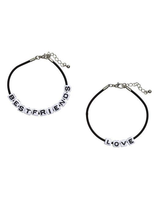 H&M | Black 2-pack Bracelets | Lyst