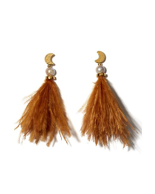 Lizzie Fortunato - Brown Parker Earrings - Lyst