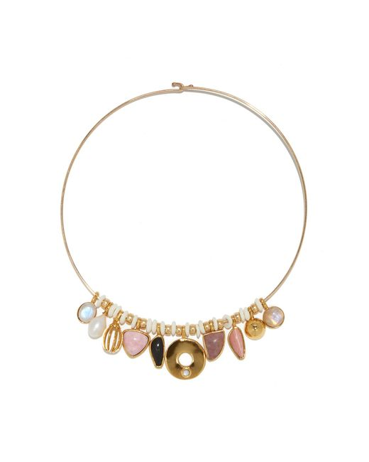Lizzie Fortunato - Multicolor Best Lady Necklace In Rose - Lyst