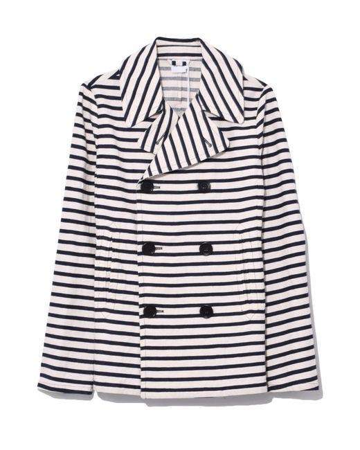 Aspesi - Double Stripe Jacket In Natural - Lyst