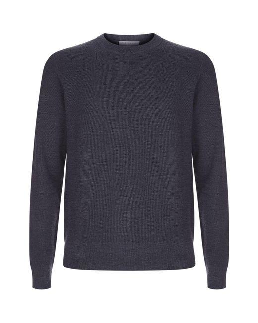 Sandro | Black Knit Mesh Sweater for Men | Lyst