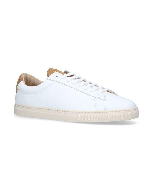 Zespà - White Leather Alpa Sneakers for Men - Lyst