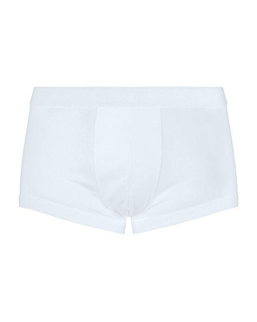 Zimmerli - White 286 Sea Island Trunks for Men - Lyst