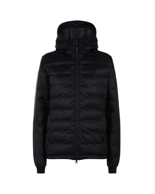 Canada Goose - Black Camp Hooded Jacket - Lyst