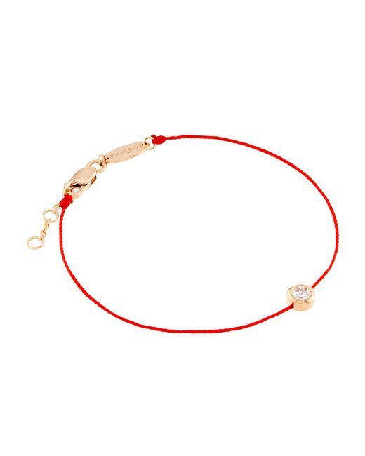 RedLine - Red So Pure Diamond Bracelet - Lyst