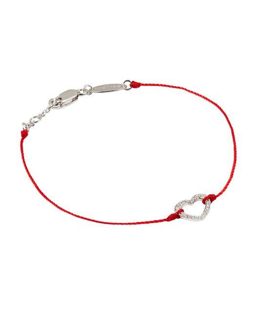 RedLine - White Beautiful Heart Bracelet - Lyst