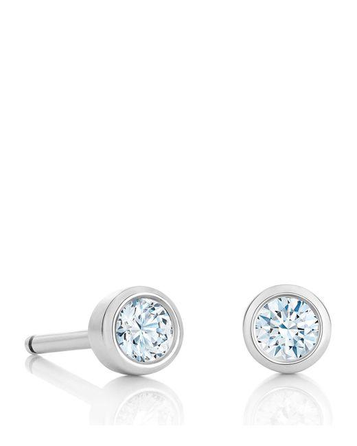 De Beers - Metallic My First One Diamond Stud Earrings - Lyst