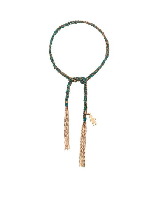Carolina Bucci - Blue Baby Boy Charm Lucky Bracelet - Lyst