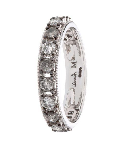 Annoushka - Metallic Dusty Diamond Eternity Ring - Lyst