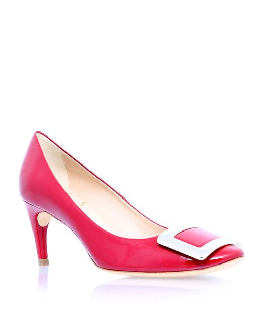 Roger Vivier | Red Belle De Nuit 65 Pumps | Lyst